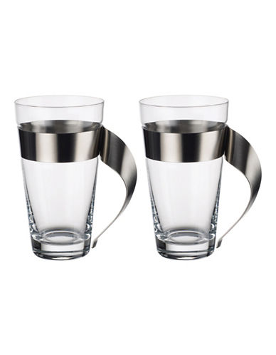 Villeroy & Boch Set of two Macchiato Glasses-CLEAR-One Size