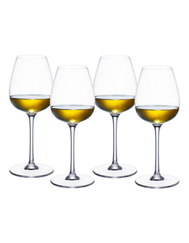 Villeroy & Boch Purismo White Wine Set of 4-GLASS-One Size
