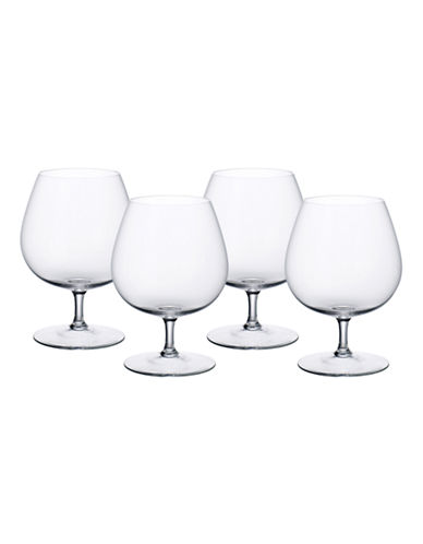 Villeroy & Boch Purismo Brandy  Set of 4-CLEAR-One Size
