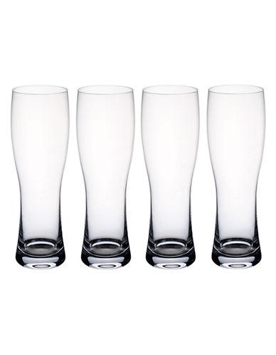 Villeroy & Boch Purismo Beer Pilsner  Set of 4-CLEAR-One Size