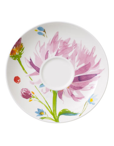 Villeroy & Boch Anmut Flowers Tea Cup Saucer-FLORAL-One Size