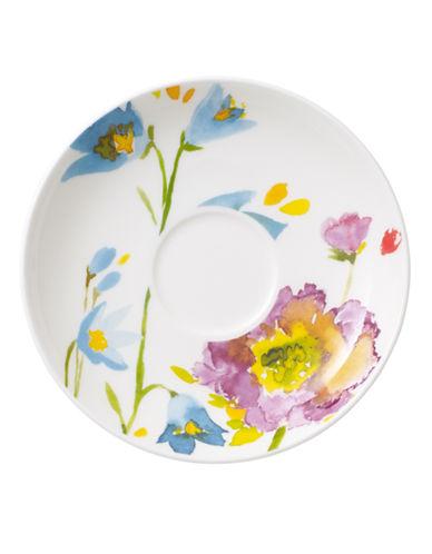 Villeroy & Boch Anmut Flowers After Dinner Saucer-FLORAL-One Size