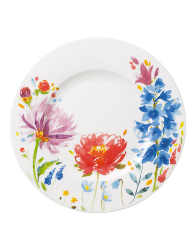 Villeroy & Boch Anmut Flowers Salad Plate-FLORAL-8.5 Inches