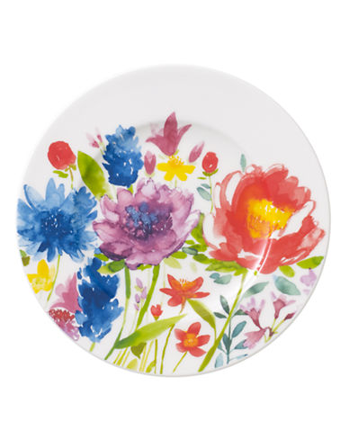 Villeroy & Boch Anmut Flowers Bread and Butter Plate-FLORAL-One Size
