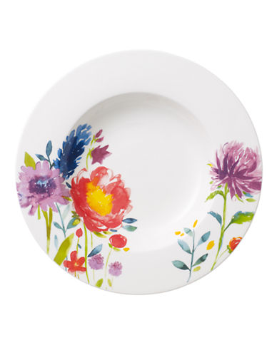 Villeroy & Boch Anmut Flowers Rim Soup-FLORAL-One Size