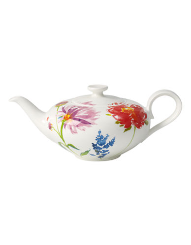 Villeroy & Boch Anmut Flowers Teapot-FLORAL-One Size
