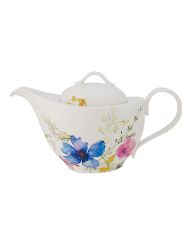 Villeroy & Boch Mariefleur Porcelain Teapot-MULTI-COLOURED-One Size