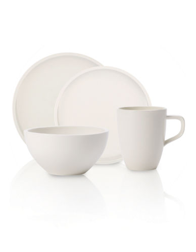 Villeroy & Boch Artesano 4 Piece Place Setting-WHITE-One Size
