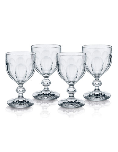 Villeroy & Boch Bernadotte Claret Set of 4-CLEAR-One Size