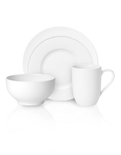 Villeroy & Boch For Me 16 Piece Set-WHITE-One Size