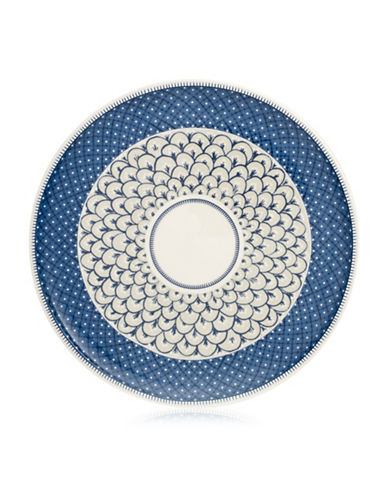 Villeroy & Boch Casale Blu Pizza-Buffet Plate-BLUE/WHITE-One Size