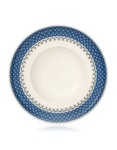 Villeroy & Boch Casale Blu Pasta Plate-BLUE/WHITE-One Size
