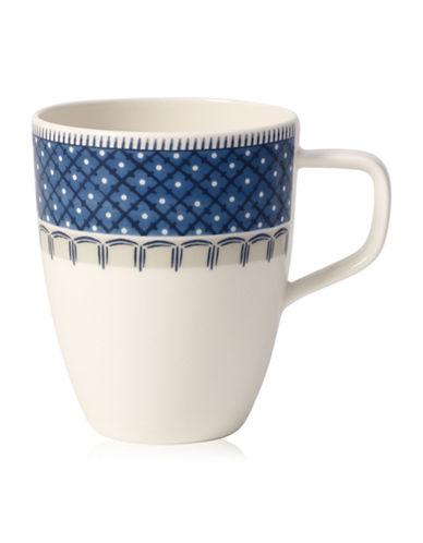 Villeroy & Boch Casale Blu Mug-BLUE/WHITE-One Size