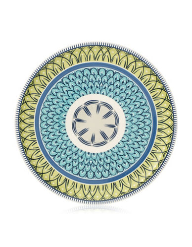 Villeroy & Boch Casale Blu Carla Salad Plate-GREEN/BLUE-8.5 Inches