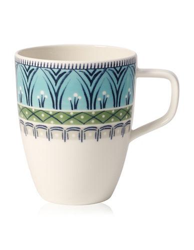 Villeroy & Boch Casale Dorina Mug-GREEN/BLUE-One Size