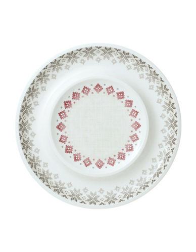Villeroy & Boch Artesano Montagne Porcelain Centerpiece Bowl-WHITE/MULTI-14.5