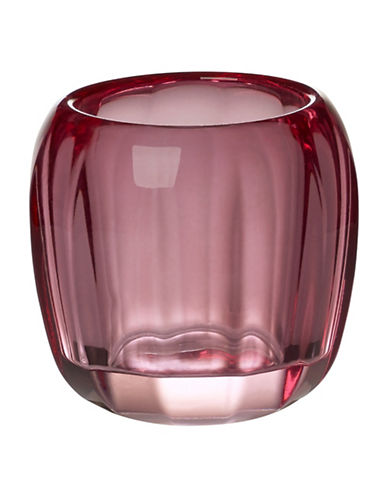 Villeroy & Boch Coloured Delight Tealight Candle Holder-BERRY-One Size