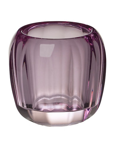 Villeroy & Boch Coloured Delight Tealight Candle Holder-PURPLE-One Size