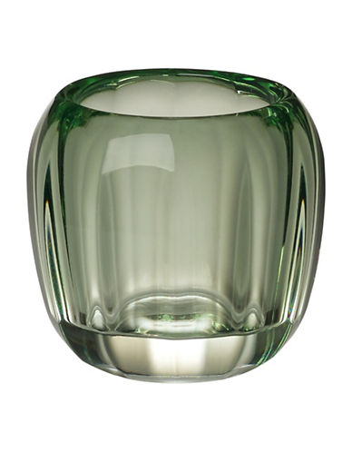 Villeroy & Boch Coloured Delight Tealight Candle Holder-GREEN-One Size