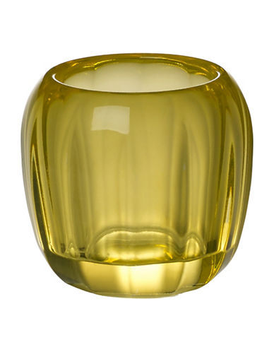 Villeroy & Boch Coloured Delight Tealight Candle Holder-LEMON-One Size