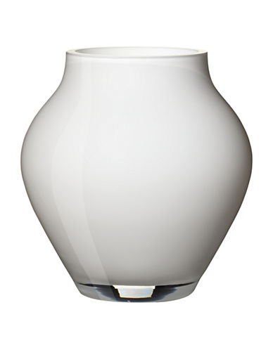 Villeroy & Boch Oronda Mini Crystal Vase-BREEZE WHITE-One Size