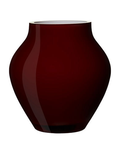 Villeroy & Boch Oronda Mini Crystal Vase-CHERRY RED-One Size