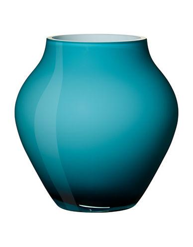 Villeroy & Boch Oronda Mini Crystal Vase-CARIBBEAN BLUE-One Size