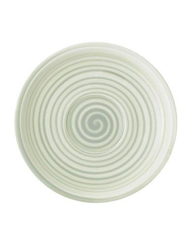 Villeroy & Boch Artesano Nature Swirl Porcelain Tea Saucer-GREEN-6.25