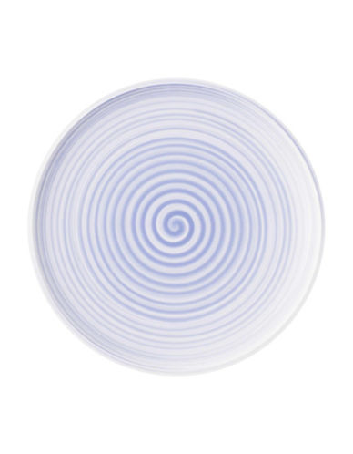 Villeroy & Boch Artesano Nature Swirl Porcelain Dinner Plate-BLUE-10.5in