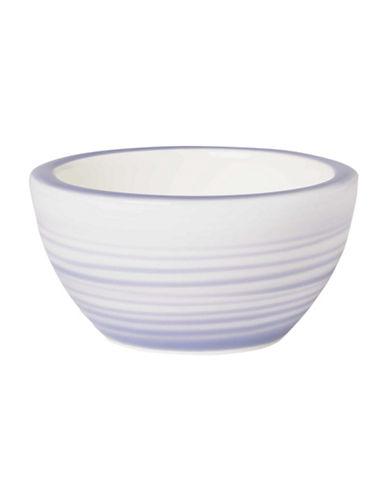 Villeroy & Boch Artesano Nature Swirl Porcelain Dip Bowl-BLUE-3 in