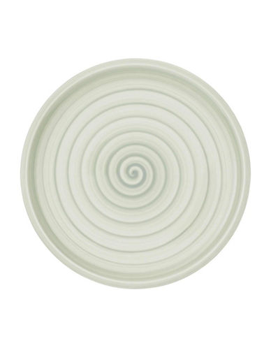 Villeroy & Boch Artesano Nature Swirl Porcelain Salad Plate-GREEN-8.5 Inches