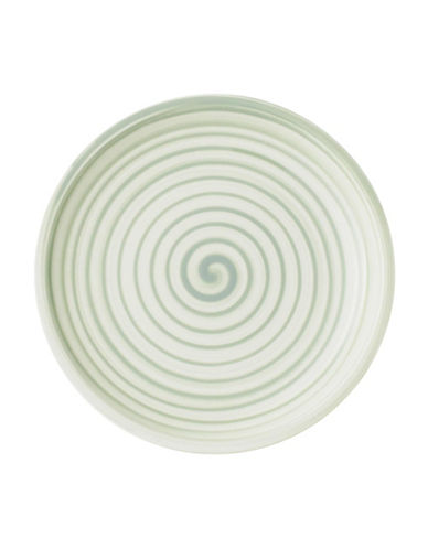Villeroy & Boch Artesano Nature Swirl Porcelain Bread and Butter Plate-GREEN-6.25