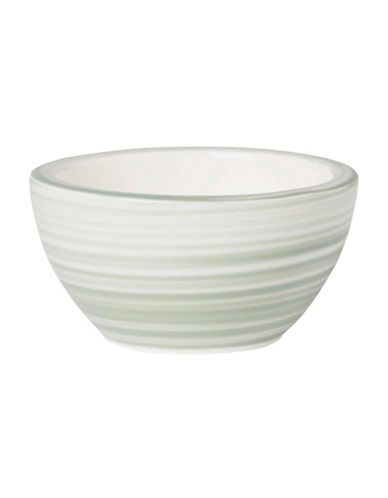 Villeroy & Boch Artesano Nature Swirl Porcelain Dip Bowl-GREEN-3 in