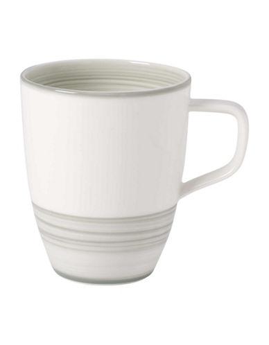 Villeroy & Boch Artesano Nature Swirl Porcelain Mug-GREEN-One Size