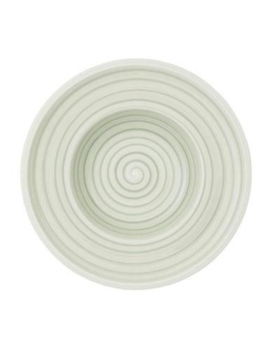 Villeroy & Boch Artesano Nature Swirl Porcelain Rim Soup Bowl-GREEN-One Size