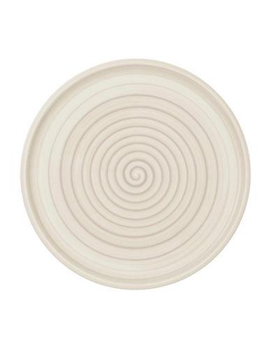 Villeroy & Boch Artesano Nature Swirl Porcelain Buffet Pizza Plate-BEIGE-12.5