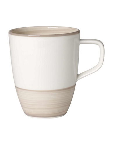 Villeroy & Boch Artesano Nature Swirl Porcelain Mug-BEIGE-One Size