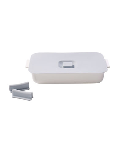 Villeroy & Boch Clever Cooking Porcelain Rectangular Baking Dish-WHITE-One Size