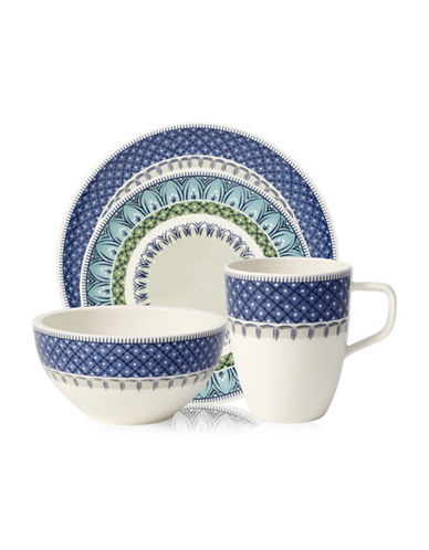 Villeroy & Boch Casale Blu Four-Piece Place Setting-BLUE-One Size