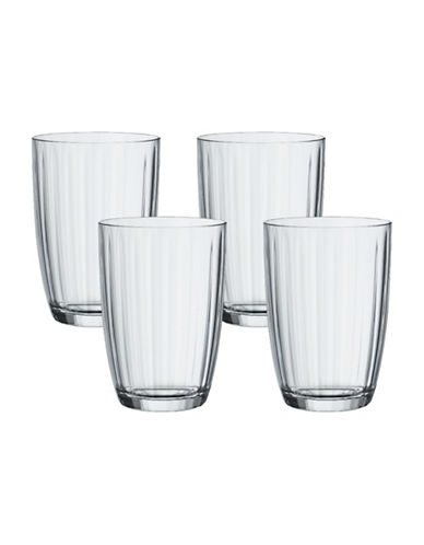 Villeroy & Boch Artesano Four-Piece Small Tumbler Set-CLEAR-400 ml