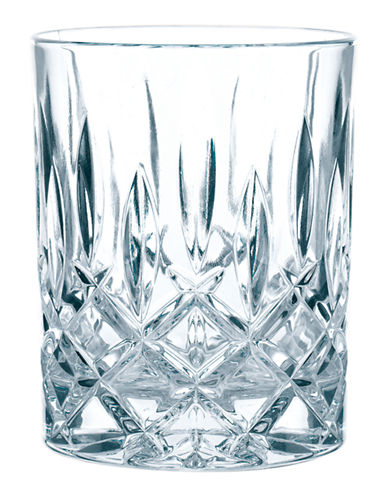 Nachtmann Noblesse 4 Whiskey Glasses-CLEAR-One Size
