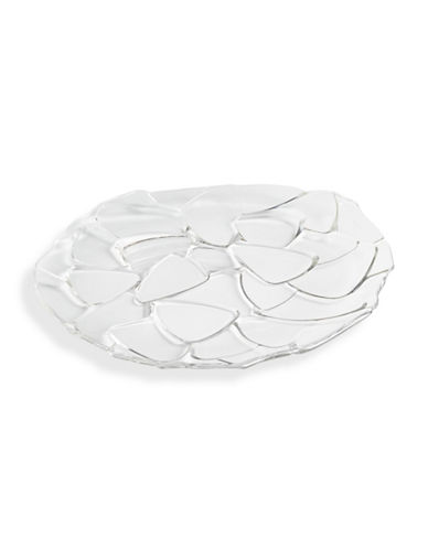 Nachtmann Petals Crystal Charger Plate-CLEAR-One Size