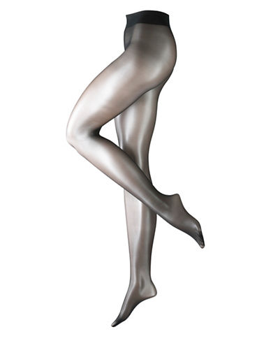 Falke Glossy Tights-BLACK-X-Large