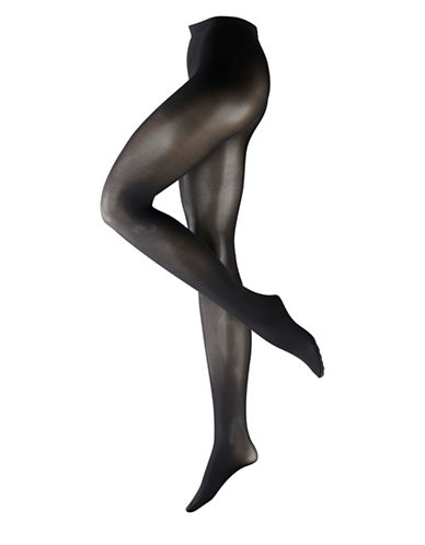 Falke Pure Matte Tights-BLACK-Medium