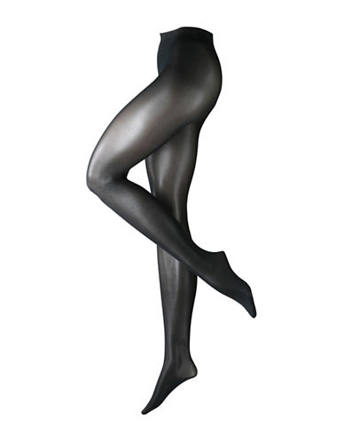 Falke Seidenglatt 40 Tights-BLACK-X-Large