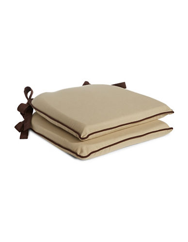 Home Studio Harmony Chair Pads-DARK BROWN-One Size