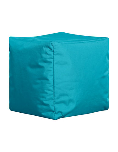 Sitting Point Cube Brava Bean Bag Ottoman-TURQUOISE-One Size