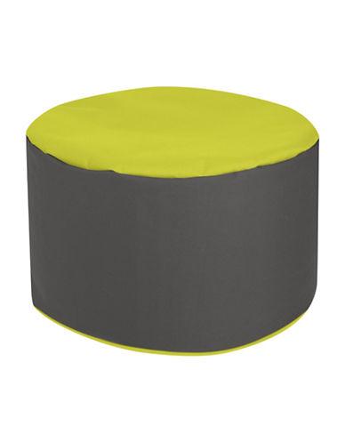 Sitting Point DotCom Bebop Scuba Pouf-GREEN-One Size
