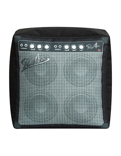 Sitting Point Cube Amplifier Pouf-GREY-One Size