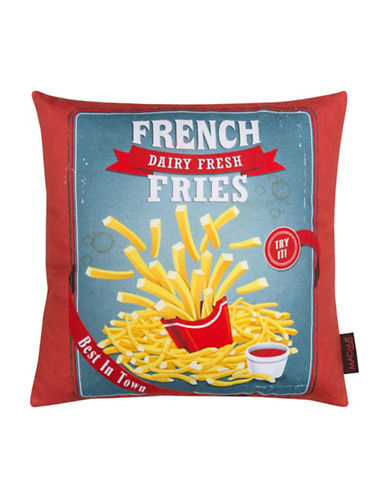 Magma French Fries Cushion-RED-One Size